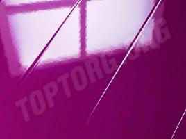 Глянцевый ламинат Elesgo фиолетовый