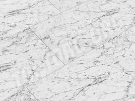 Глянцевый ламинат Elesgo Каррара белая Maxi V5