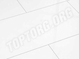 Глянцевый ламинат Elesgo Белый арктический Maxi V5