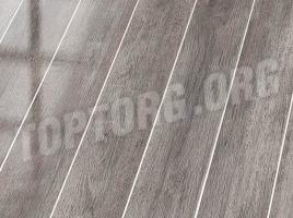 Глянцевый ламинат Falquon D4187 White Oak (алюминиевая вставка)