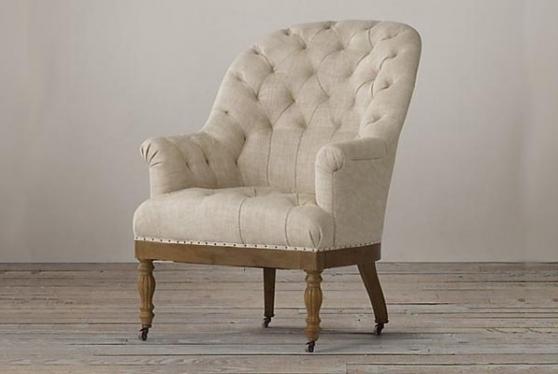 Кресло с каретной стяжкой модель №1