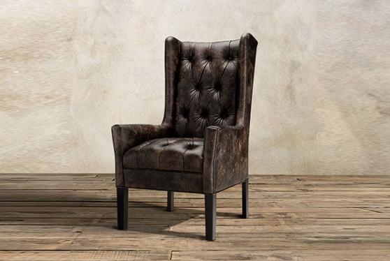 Кресло с каретной стяжкой модель №6