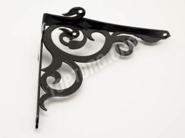 Кронштейн для полки (165х180) черный глянцевый