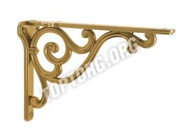 Кронштейн для полки Giusti - золото темное (200х140)
