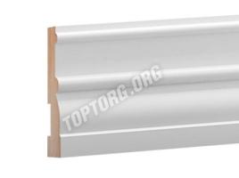 Плинтус МДФ: Высота 100 мм, Ширина 30 мм, Длина 2440 мм (014)