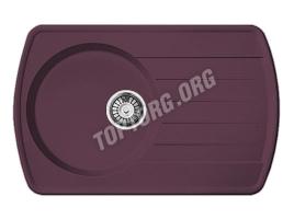 Мойка из искусственного камня, цвет фиолетовый (модель 11)