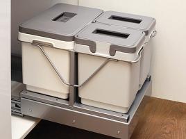 Система сортировки мусора, в ящик от 450 мм