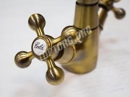 Смеситель Frap 4019 бронза