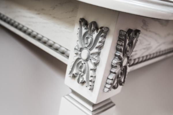 Стол кухонный нераскладной Неаполь 1 с патиной