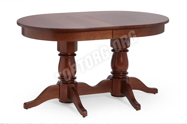 """Большой обеденный стол с овальной столешницей """"Италия-1"""""""