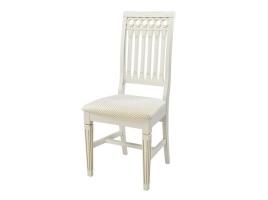 Белый стул с золотой патиной (Лекс-1)