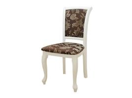 Белый стул с мягкой обивкой (Рим-2)