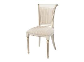 Белый стул с золотой патиной (Алекс)