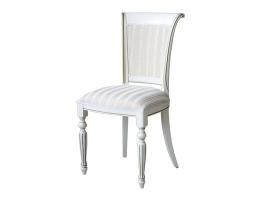 Белый стул с золотой патиной (Алекс-5IT)