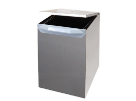 Ведро для мусора выдвижное (17л) сталь нержавеющая
