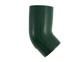 Колено трубы водосточной системы, 45°, цвет: зеленый