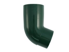 Колено трубы водосточной системы, 67°, цвет: зеленый