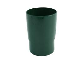 Муфта трубная для водосточной системы, цвет: зеленый