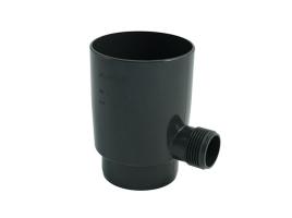 Отборник дождевой воды в водосточной системе, цвет: антрацит