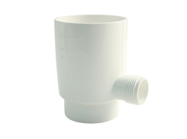 Отборник дождевой воды в водосточной системе, цвет: белый