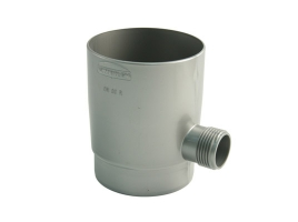 Отборник дождевой воды в водосточной системе, цвет: серебристый
