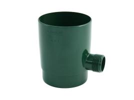 Отборник дождевой воды в водосточной системе, цвет: зеленый