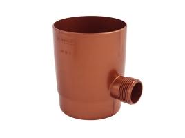 Отборник дождевой воды в водосточной системе, цвет: медь