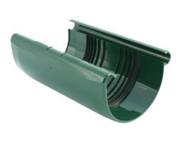 Соединительная подкладка для желоба водосточной системы, цвет: зеленый
