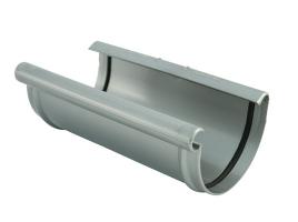 Соединительная подкладка для желоба водосточной системы, цвет: серебристый