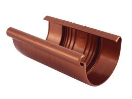 Соединительная подкладка для желоба водосточной системы, цвет: медь