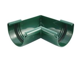 Внутренний угловой элемент водосточной системы, цвет: зеленый