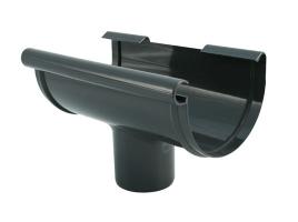Воронка для желоба водосточной системы, цвет: антрацит (2)