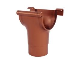 Воронка для желоба водосточной системы, цвет: медь