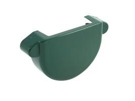 Заглушка для желоба водосточной системы цвет: зеленый