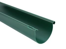 Водосточный желоб полукруглый, цвет: зеленый