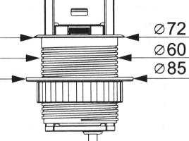 черная выдвижная розетка с USB