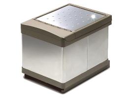 Ведро для мусора выдвижное (2х16л)