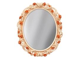 "Зеркало в раме ""Афина"" - овальное"
