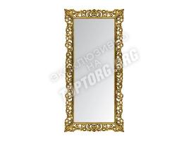 "Зеркало в раме ""Априка"" цвет: бронза, черная патина (940х2000 мм)"