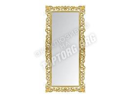 "Зеркало в раме ""Априка"" цвет: золото, патина серебро (940x2000 мм)"