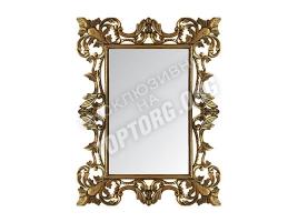 "Зеркало в раме ""Лигурия"" цвет: бронза, черная патина (900x1200 мм)"