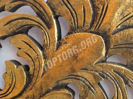 Зеркало в раме Лигурия цвет: бронза, черная патина 900x1200 мм