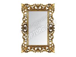 "Зеркало в раме ""Верона"" цвет: бронза, черная патина (700x1000 мм)"