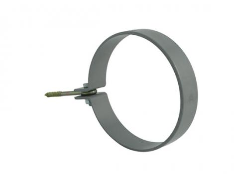хомут для водосточной трубы диаметром 75, 105 мм