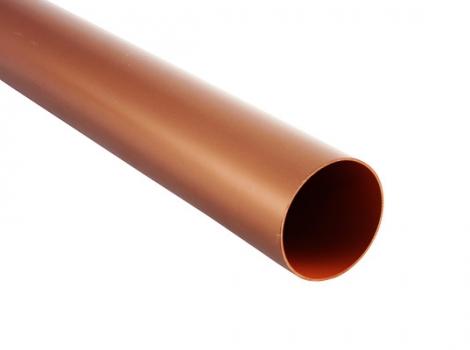 Водосточная труба, цвет: медь