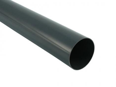 труба для водосточной системы диаметром 75, 105 мм