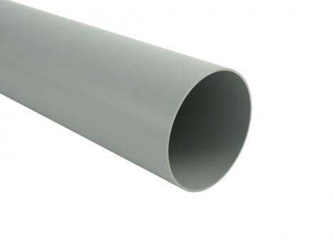 Водосточная труба, цвет: серый
