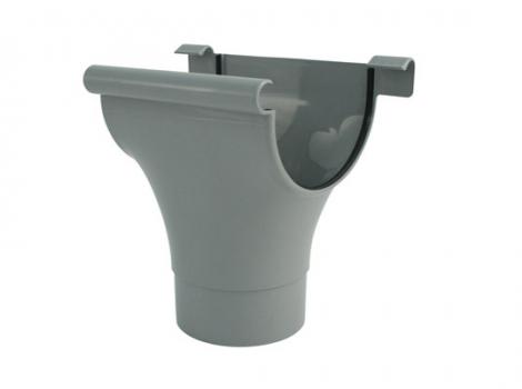Воронка для желоба водосточной системы, цвет: серый (2)
