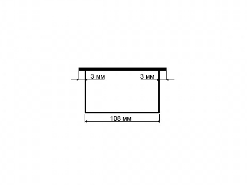 Встраиваемая выдвижная горизонтальная розетка в столешницу - GLS 3 euro