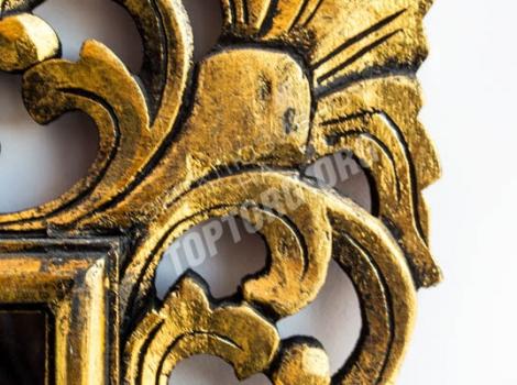 зеркало в раме бронза с патиной